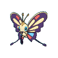 Pokemon #267 - Beautifly (Shiny)