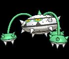 Pokemon #598 - Ferrothorn