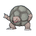 Pokemon #076 - Golem