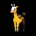 Pokemon #203 - Girafarig