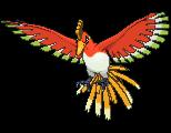 Pokemon #250 - Ho-Oh