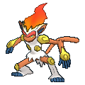 Pokemon #392 - Infernape