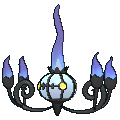 Pokemon #609 - Chandelure