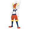 Pokemon #815 - Cinderace