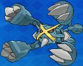 Pokemon #mega_376 - Metagross